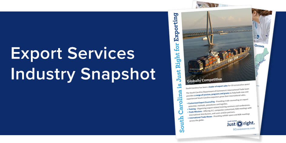 Export Services Industry Snapshot